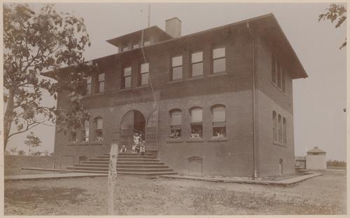 Old Gage School, Topeka, Kansas - Page
