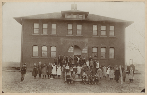 Old Gage School, Topeka, Kansas - Page