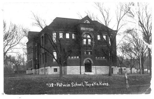 Potwin School, Topeka, Kansas - Page