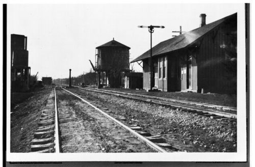 Chicago, Rock Island and Pacific Railroad depot, Volland, Kansas - Page