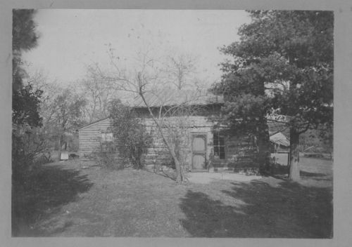 Samuel Lyle Adair log cabin, Osawatomie, Kansas - Page