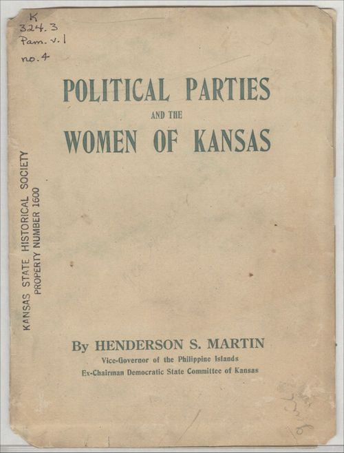 Political Parties and the Women of Kansas - Page