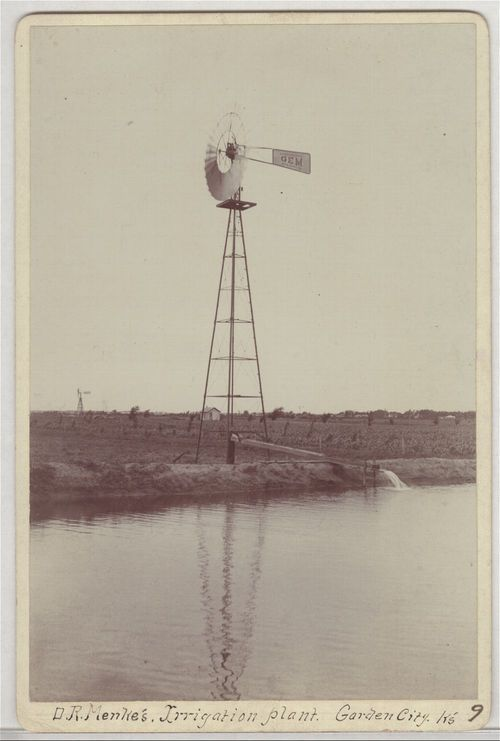 Windmill and irrigation plant, Finney County, Kansas - Page