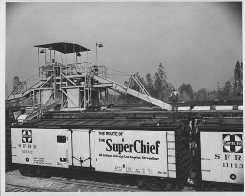 Atchison, Topeka & Santa Fe Railway Company's ice machine, Bakersfield, California - Page