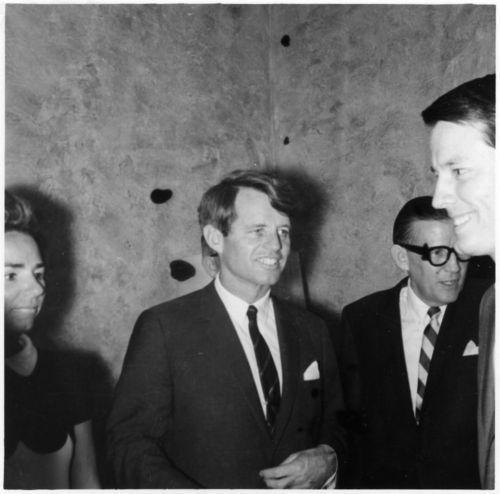 Robert Francis Kennedy at the Kansas State University Union, Manhattan, Kansas - Page
