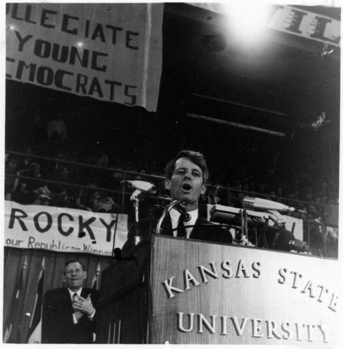 Robert Francis Kennedy at Kansas State University, Manhattan, Kansas - Page
