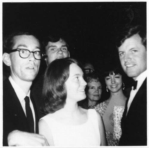 Edward Moore Kennedy at a campaign fund raiser in Topeka, Kansas - Page