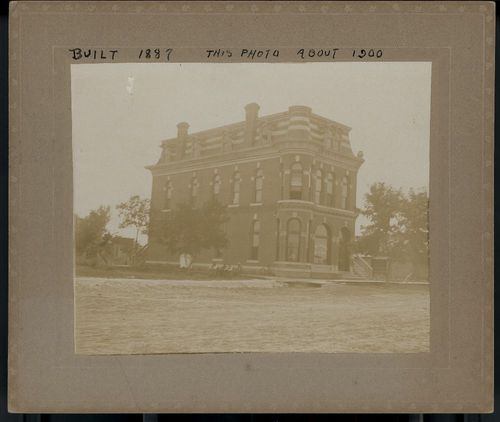 First National Bank, Dighton, Kansas - Page