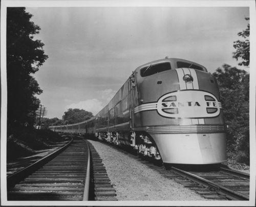 Atchison, Topeka & Santa Fe Railway Company's Super Chief - Page