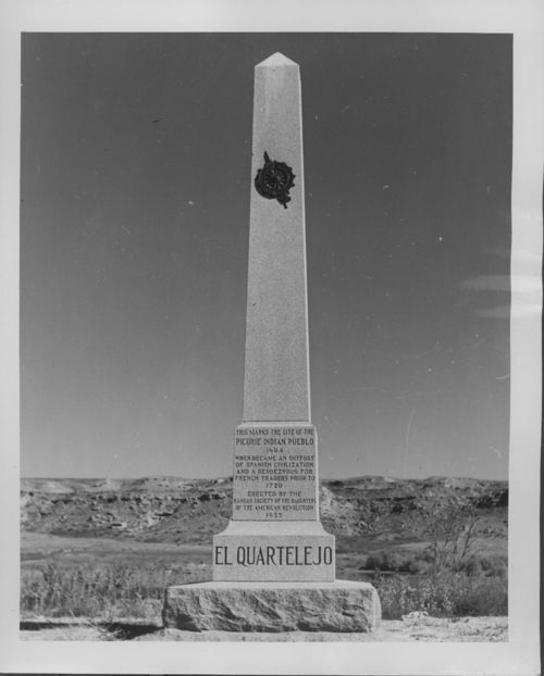 El Quartelejo Monument Scott County, Kansas - Page