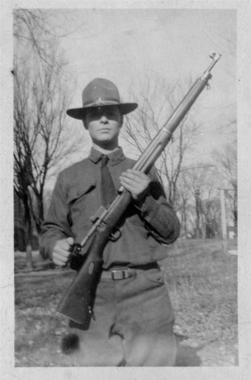 Kansas National Guardsman at the southeast Kansas coal fields - Page