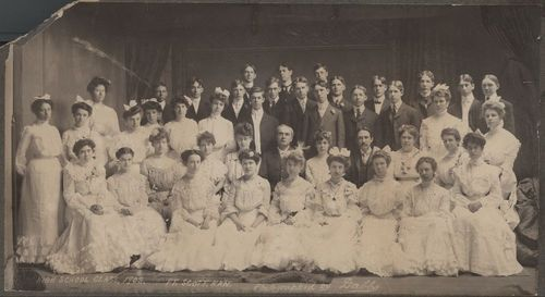 High school graduating class, Fort Scott, Kansas - Page