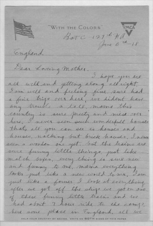 John A. Gersic to Mrs. Joseph Gersic - Page