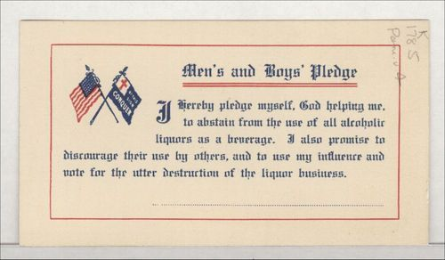 Men's and boy's pledge - Page