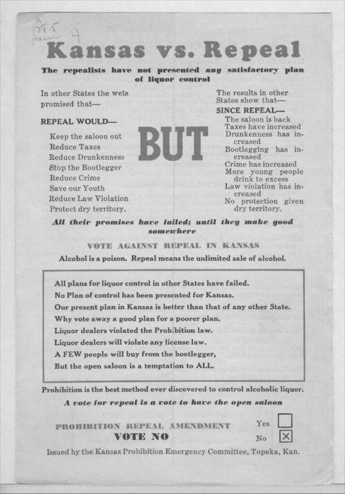 Kansas vs. repeal - Page