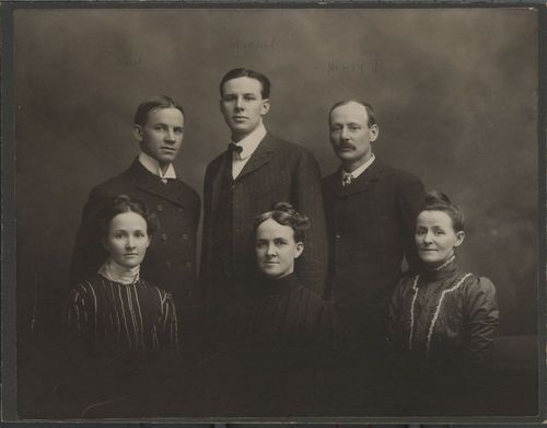 Children of Franklin G. and Harriet C. Adams - Page
