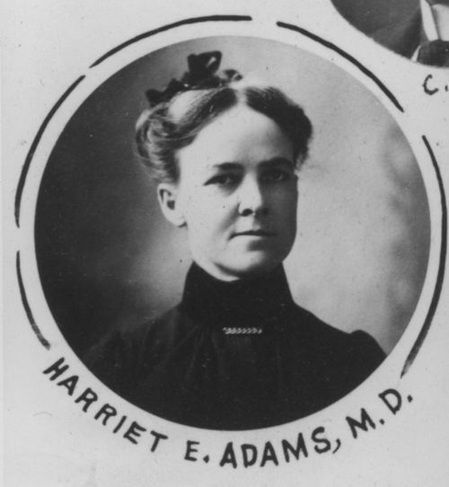 Harriet E. Adams, M. D. - Page