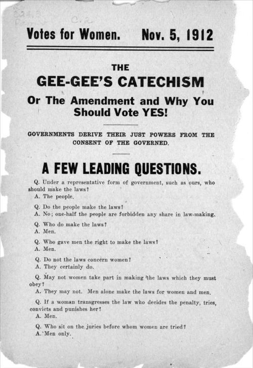 The Gee-Gee's catechism, or the amendment and why you shoud vote yes! - Page
