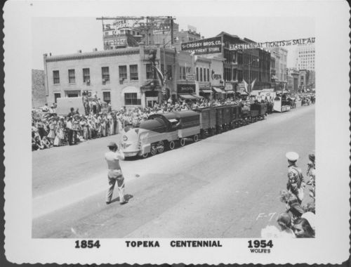 Topeka Centennial parade, Topeka, Kansas - Page