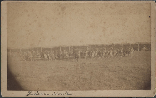 Indian scouts, Indian Territory - Page