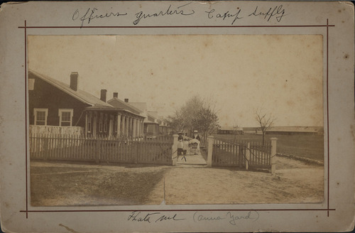 Officers' quarters at Camp Supply, Indian Territory - Page