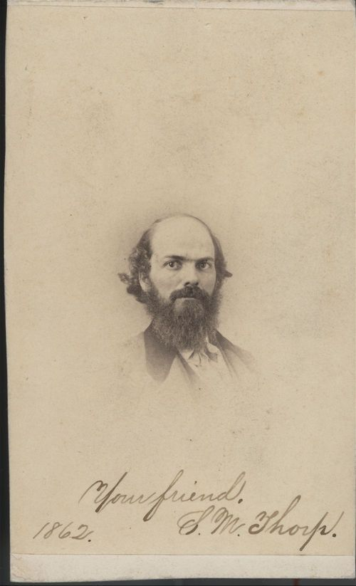 Simeon Montgomery Thorp - Page