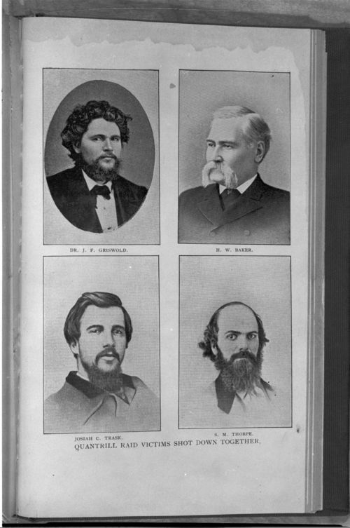 Victims of Quantrill's raid - Page