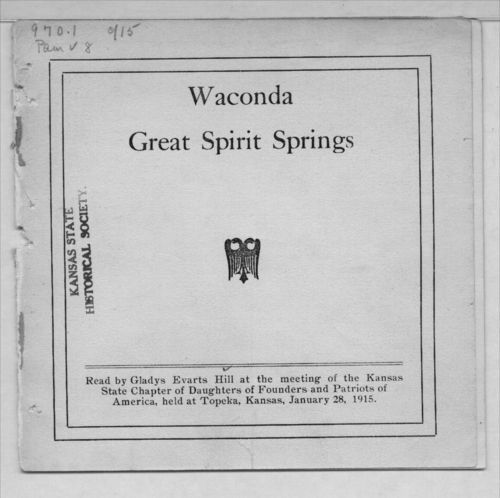 Waconda Great Spirit Springs - Page