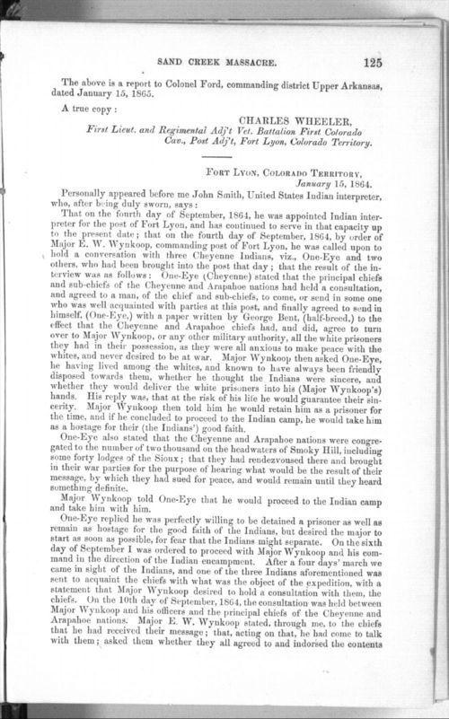 Affidavit of John Smith - Page