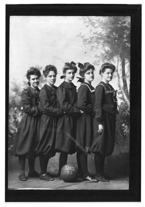 Topeka High School girls' basketball team, Topeka, Kansas - Page