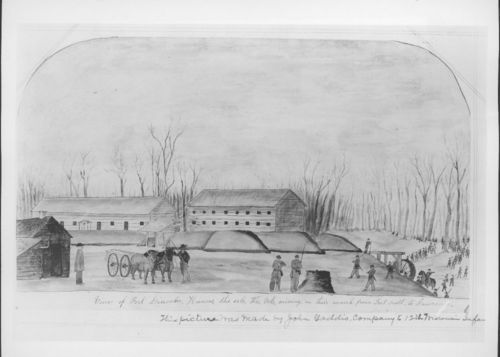 View of Fort Lincoln, Kansas - Page