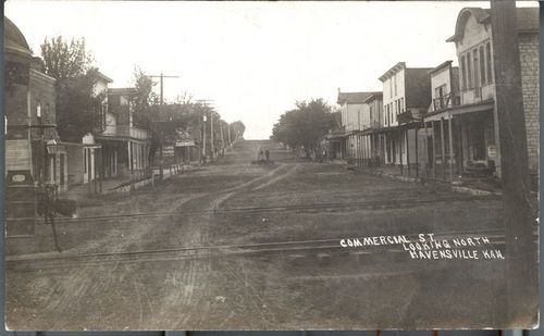 Commercial Street, Havensville, Kansas - Page