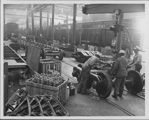 Atchison, Topeka & Santa Fe Railway shops, Topeka, Kansas - Page