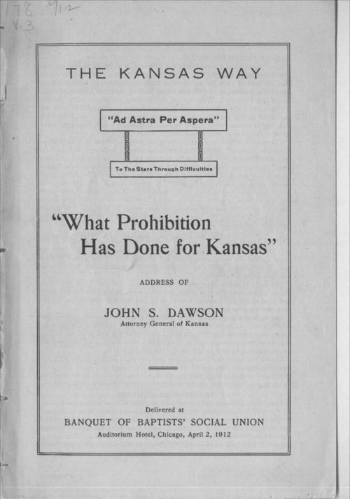 What prohibition has done for Kansas - Page