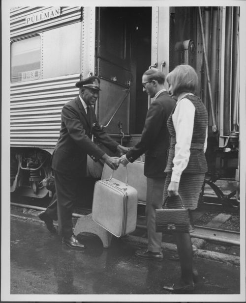 Atchison, Topeka & Santa Fe Railway Company porter - Page