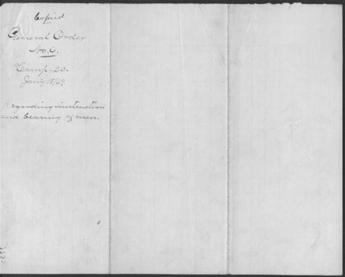 General order no. 6 - Page