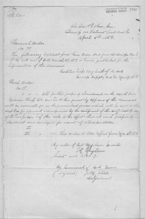 General order no. 17 - Page