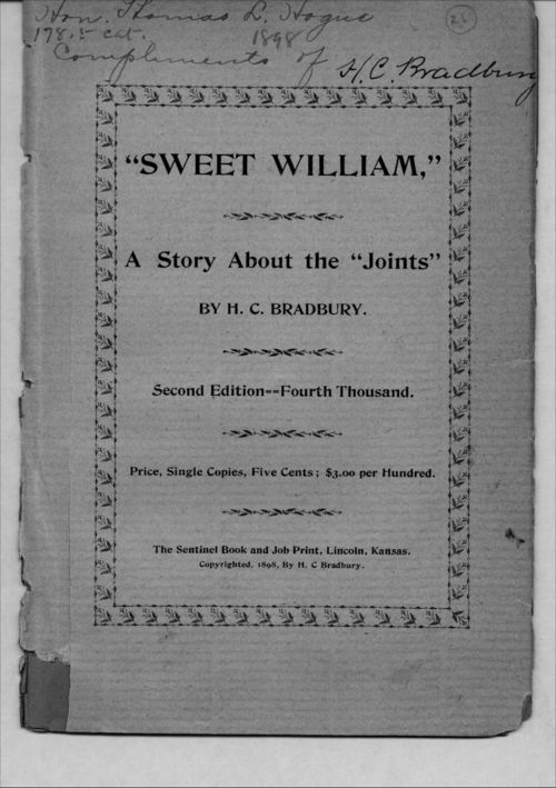 Sweet William. A story about the joints - Page