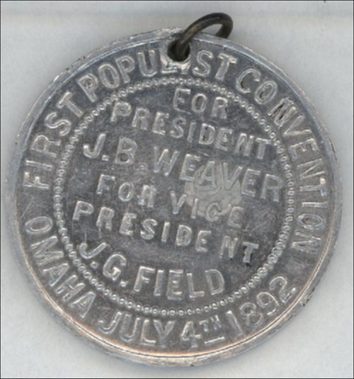 Lewelling political medal - Page