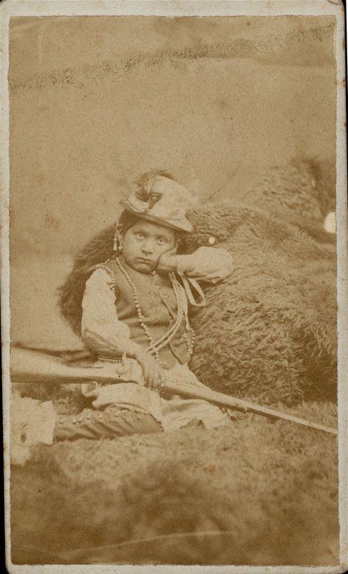 Son of Bull Thigh, Cheyenne Chief - Page
