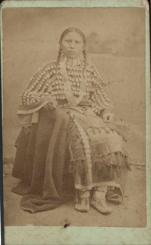 Daughter of White-shield, Cheyenne Chief - Page