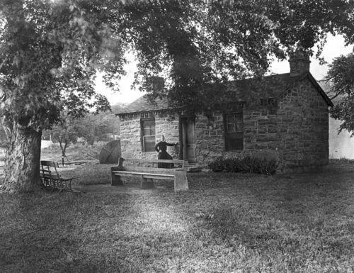 Pottawatomie Indian Pay Station, St. Marys, Kansas - Page