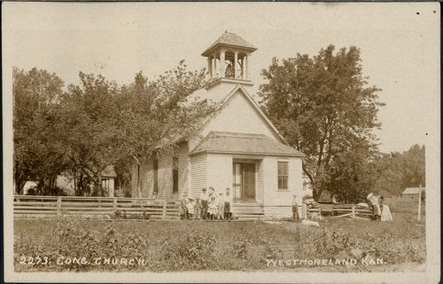 Congregational Church, Westmoreland, Kansas - Page