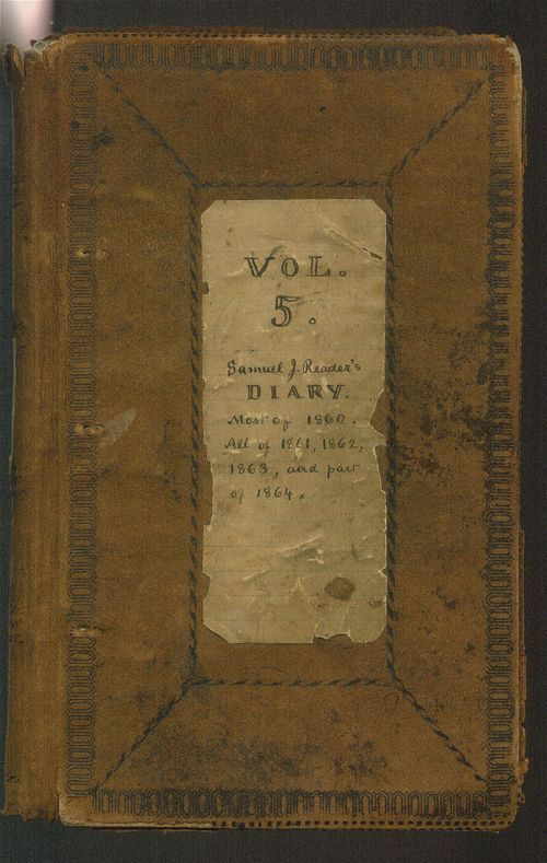 Samuel Reader's diary, volume 5 - Page