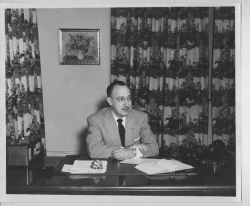 Wendell R. Godwin, Superintendent of Schools in Topeka, Kansas from 1951 to 1961