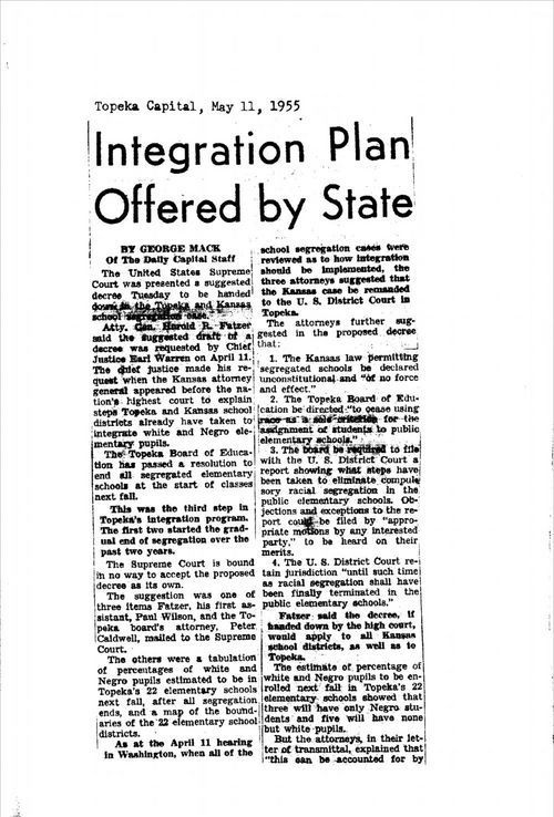 Integration plan offered by state - Page