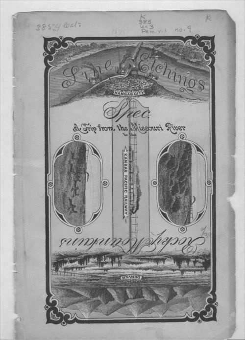 Line etchings.  A trip from the Missouri River to the Rocky Mountains via the Kansas Pacific Railway - Page