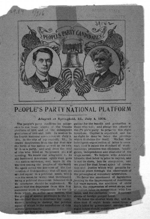 People's Party national platform - Page