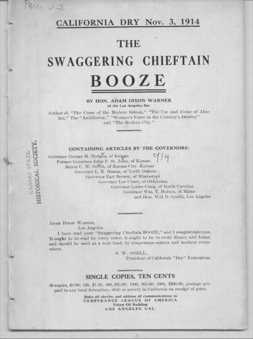 The swaggering chieftain booze - Page