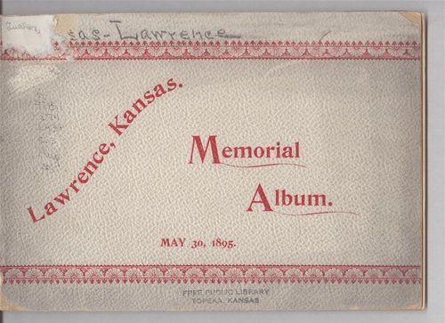 Lawrence, Kansas. Memorial Album - Page